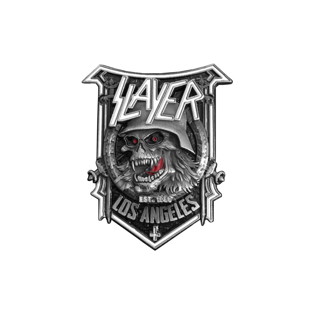 Slayer - Slaytanic Pin Badge