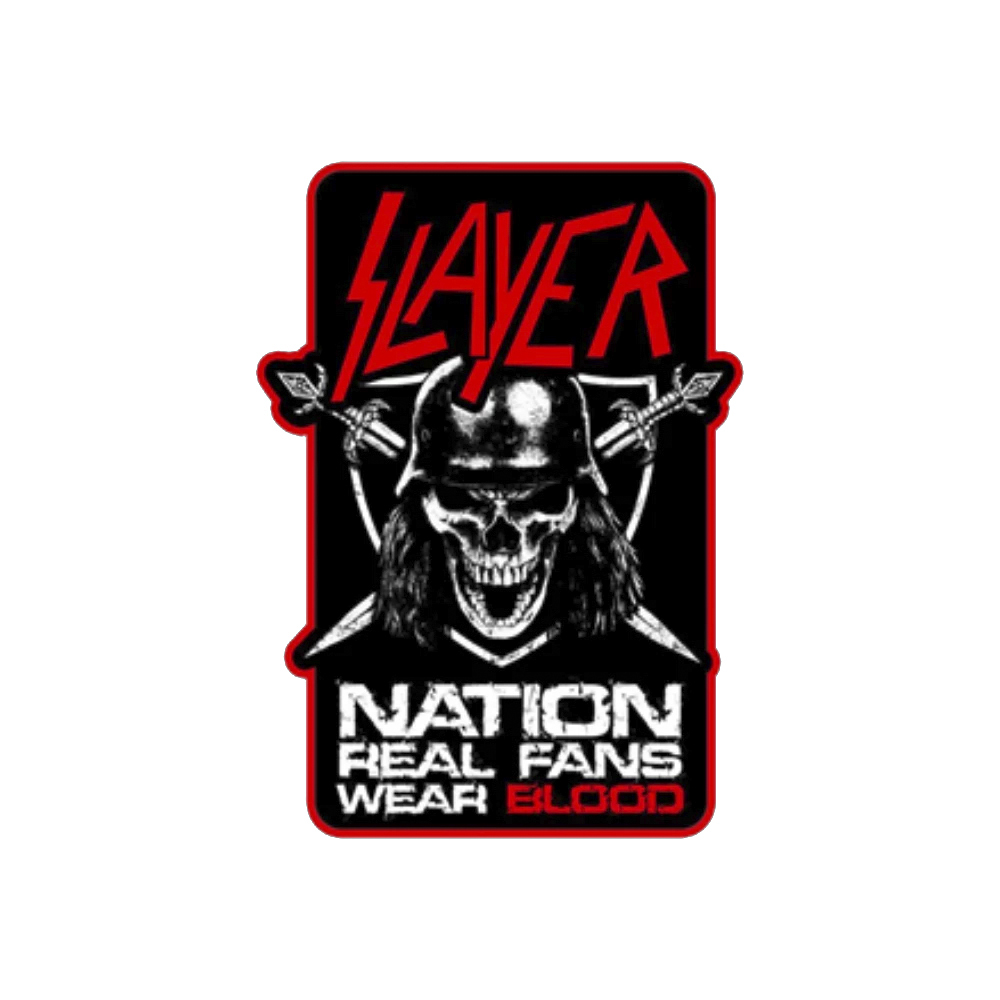 Slayer - Real Fans Woven Patch