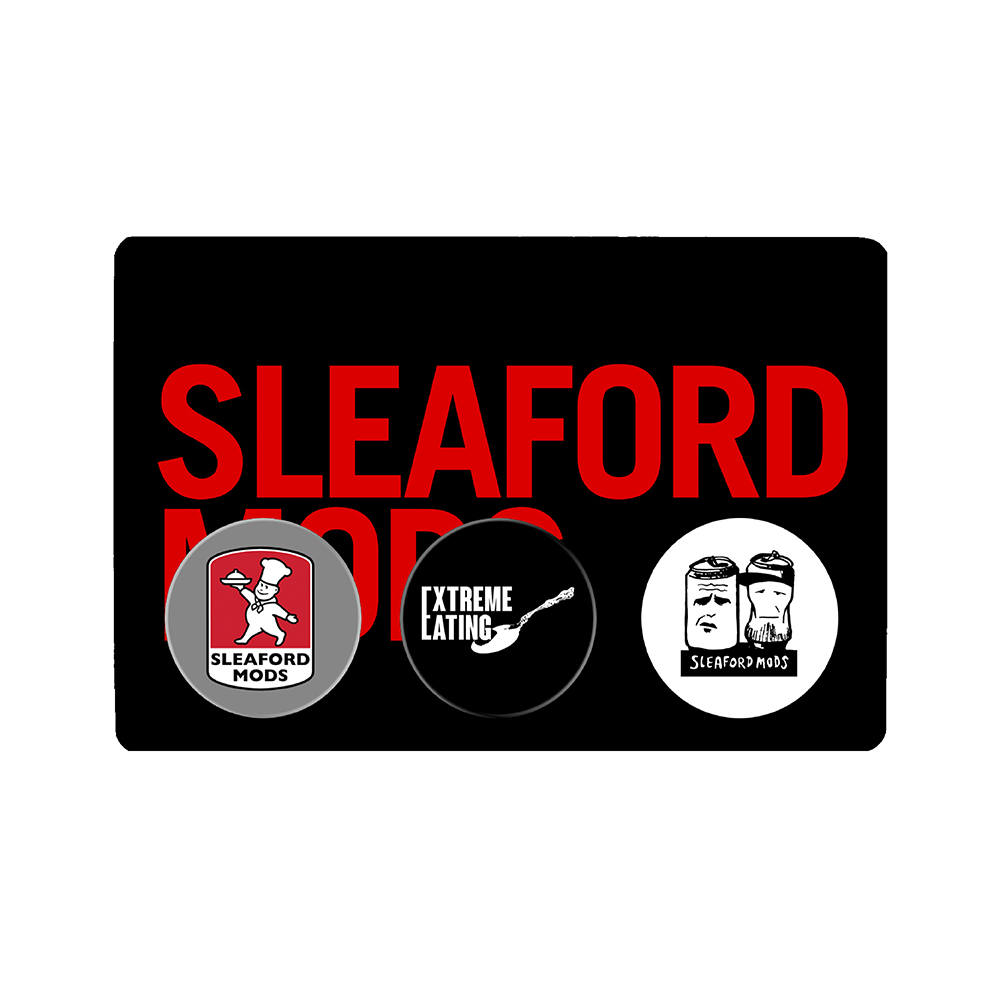 Sleaford Mods - Button Badge Pack