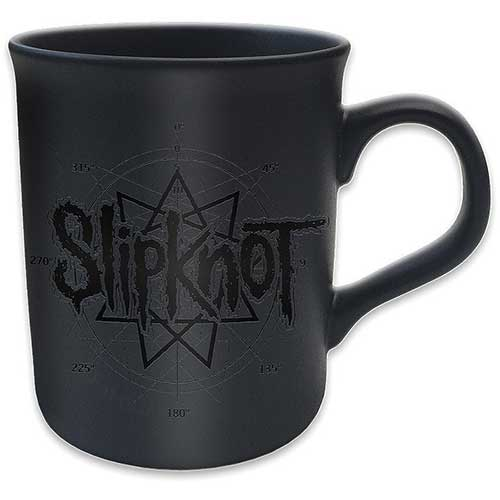 Slipknot - Logo Star (Matt Black)