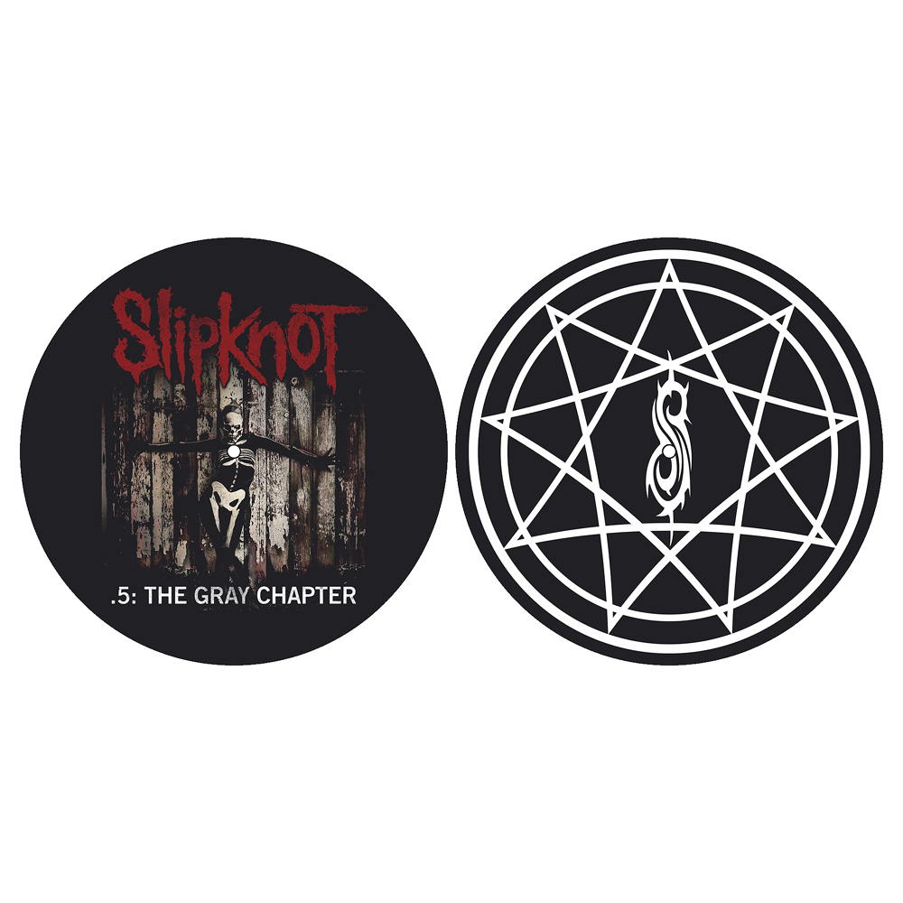 Slipknot - The Gray Chapter Slipmat Set