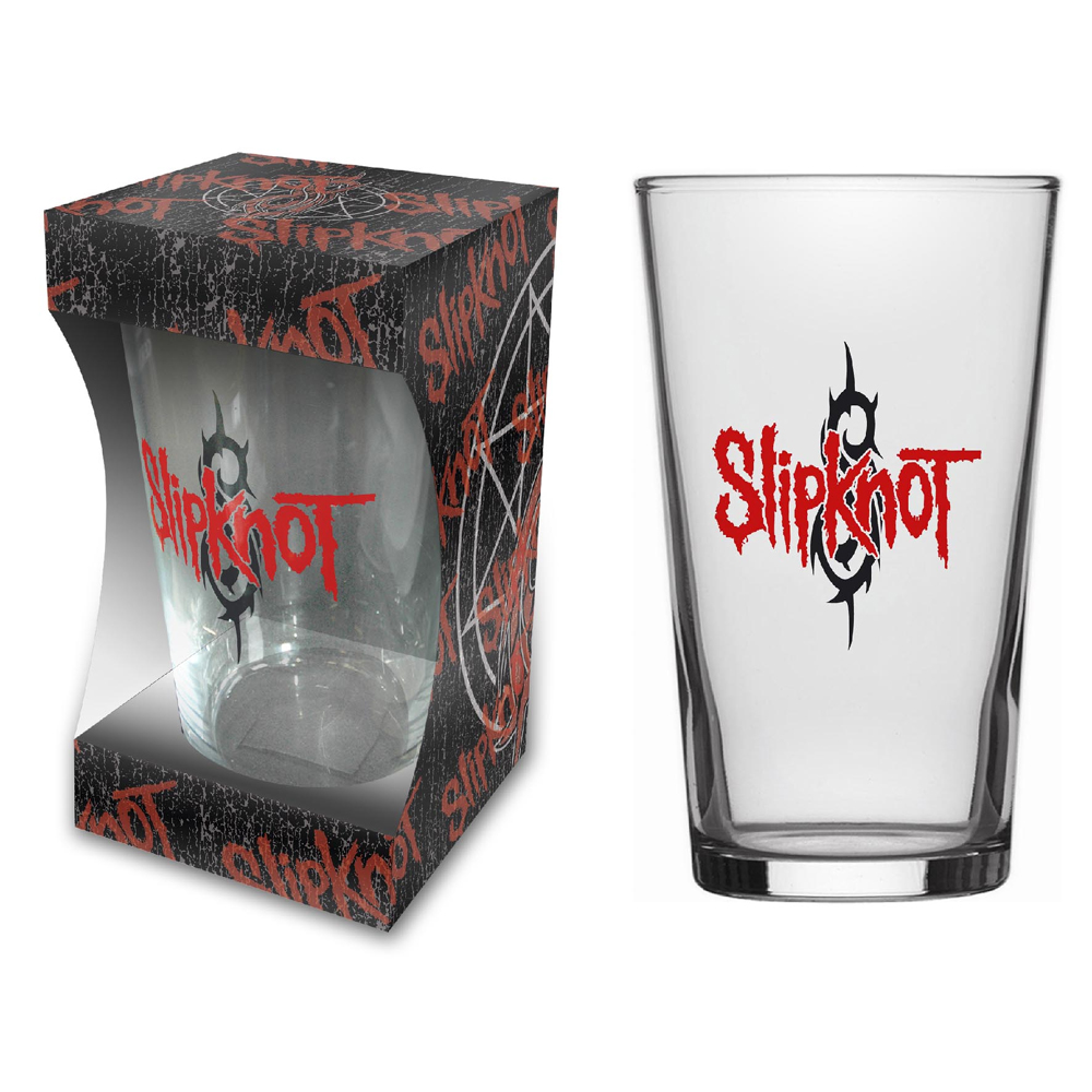 Slipknot - Logo Beer Glass