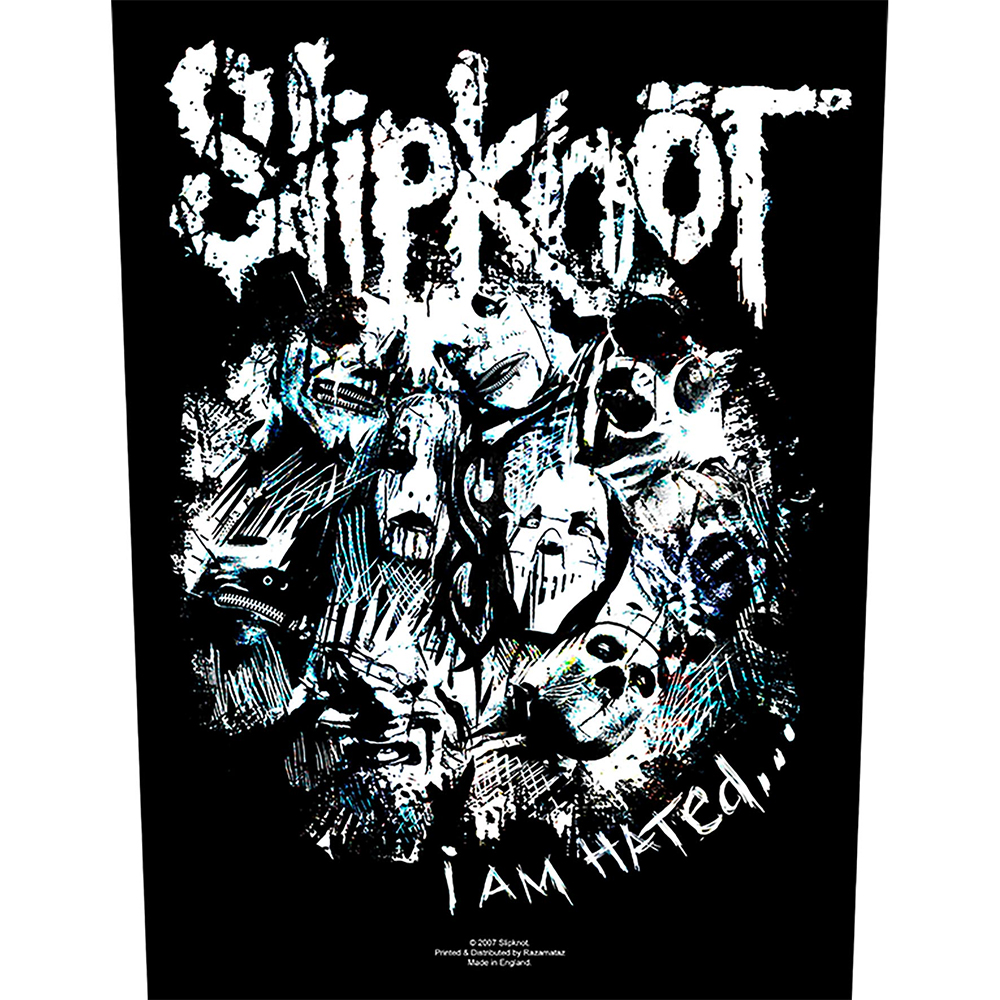 Slipknot -  I Am Hated (Backpatch)