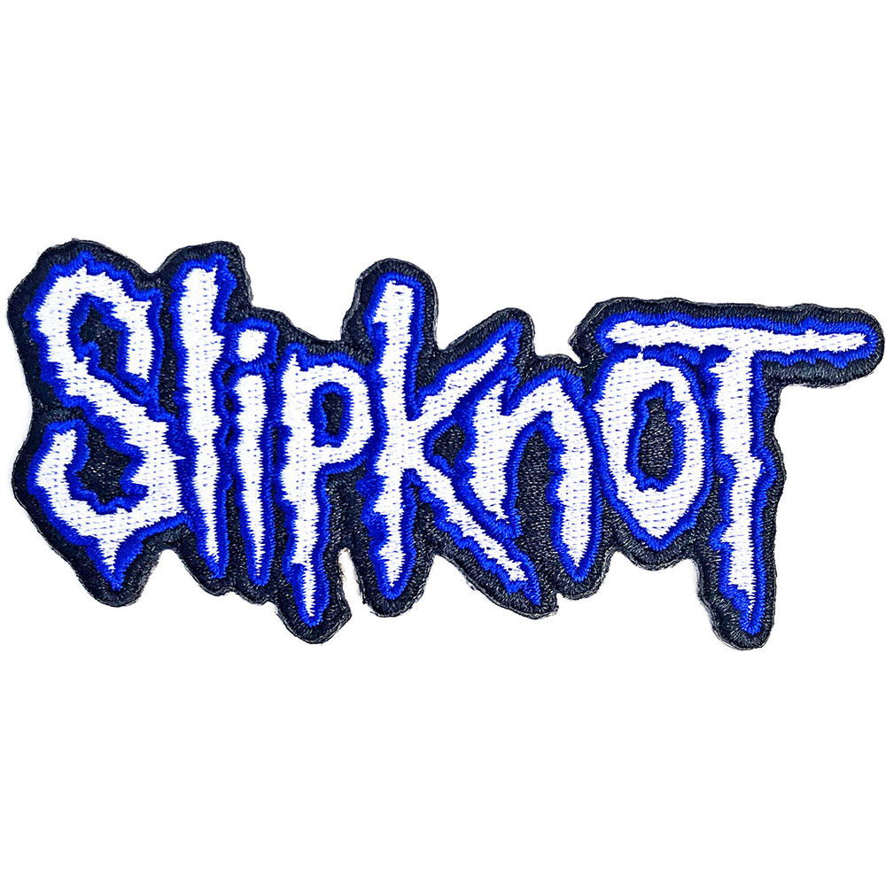 Slipknot - Cut-Out Logo Blue Border