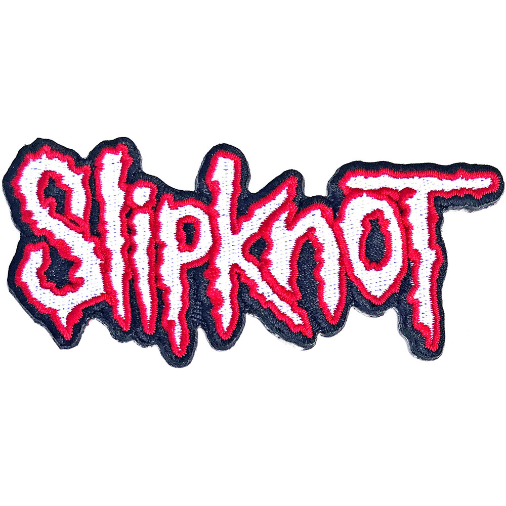 Slipknot - Cut-Out Logo Red Border