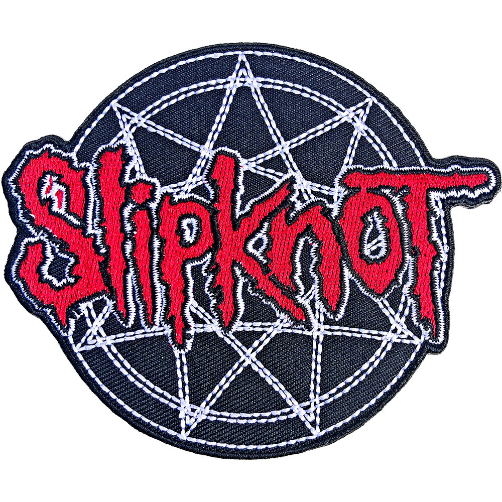 Slipknot - Red Logo Over Nonogram