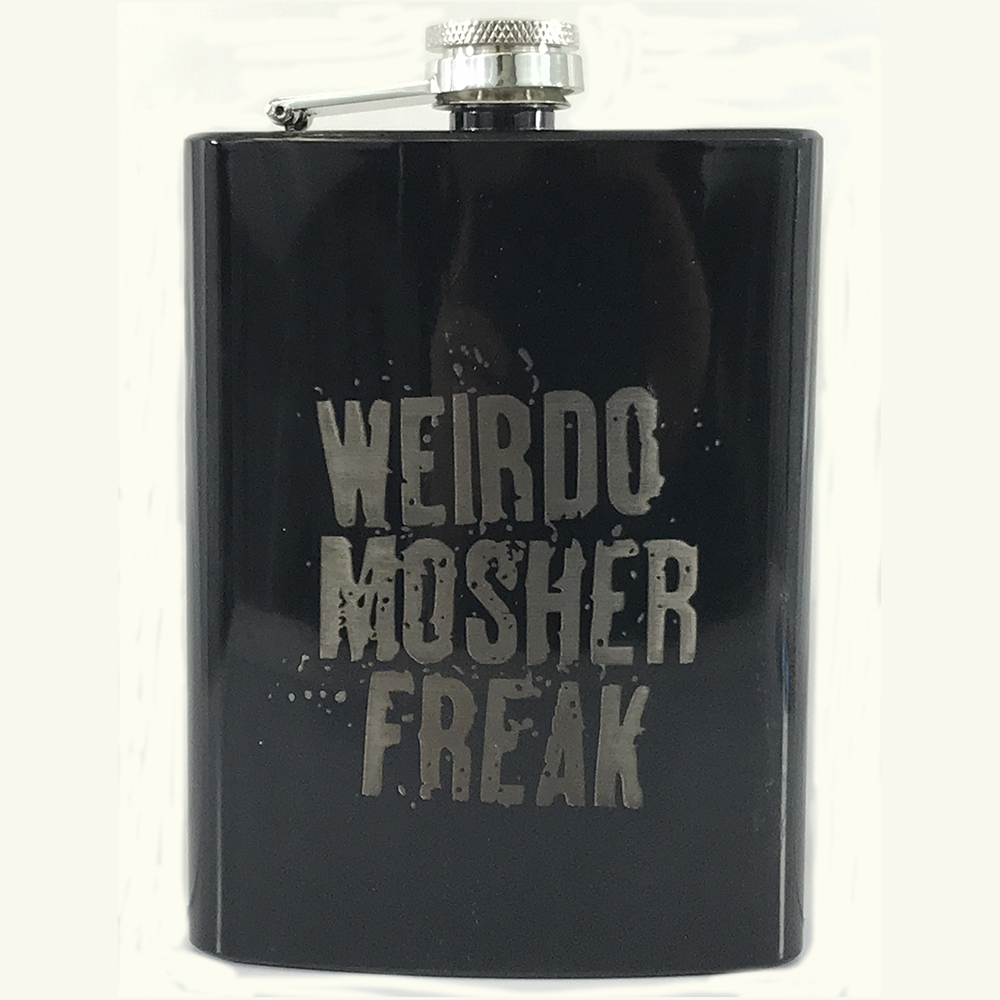 Sophie Lancaster - Weirdo Mosher Freak Black Hip Flask
