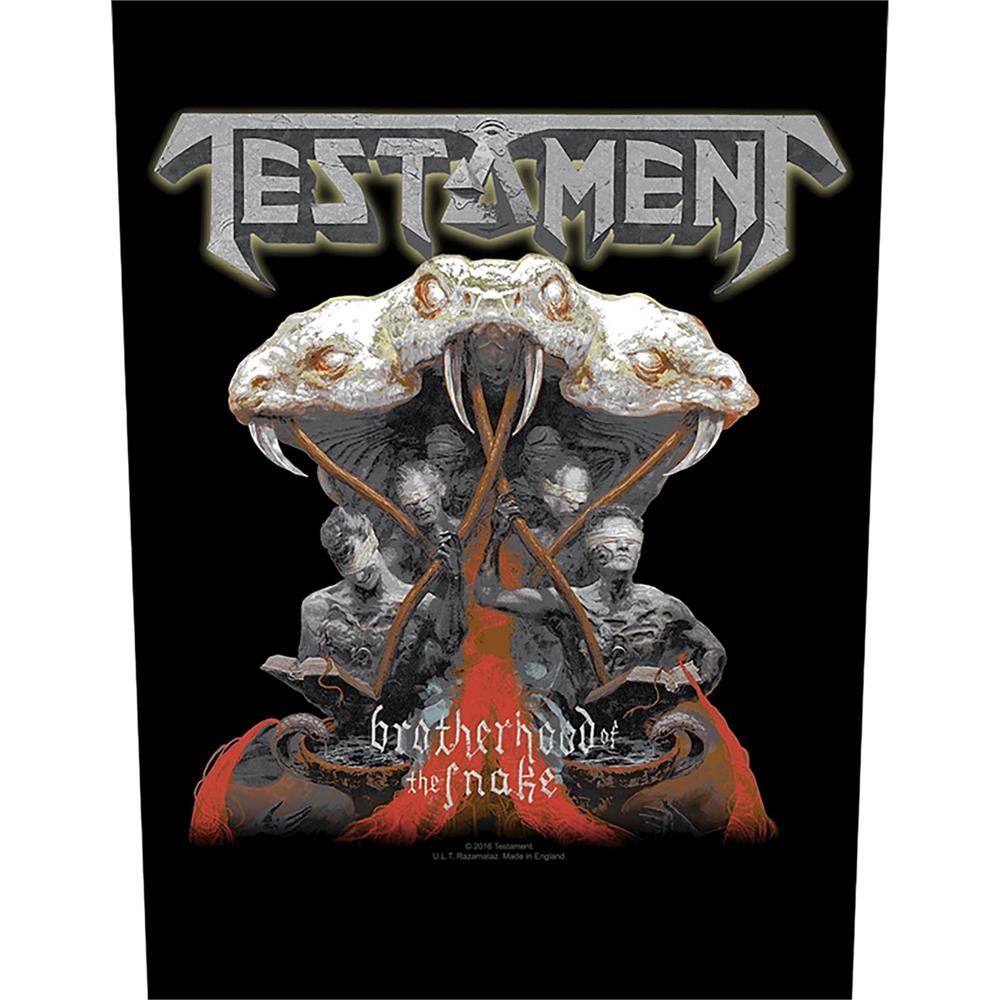 Testament - Brotherhood of the Snake (Backpatch)