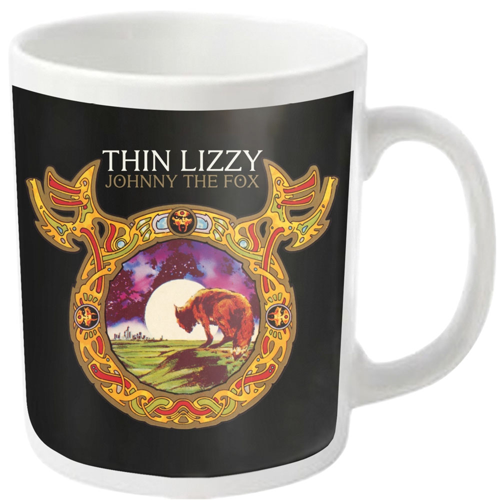 Thin Lizzy - Johnny The Fox (White Mug)