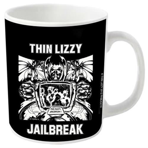 Thin Lizzy - Jailbreak (White)
