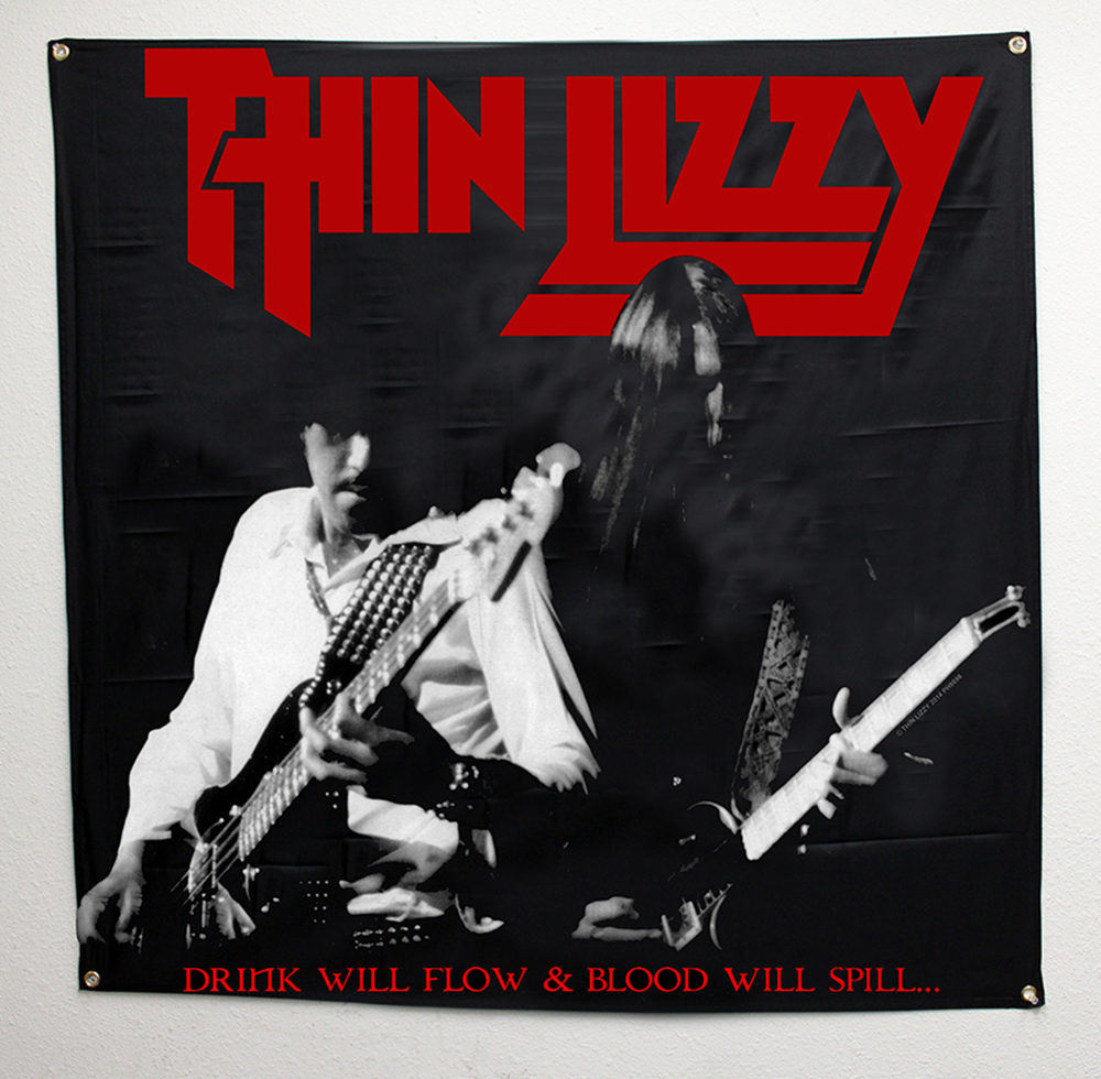 Thin Lizzy - Drink Will Flow (Black)