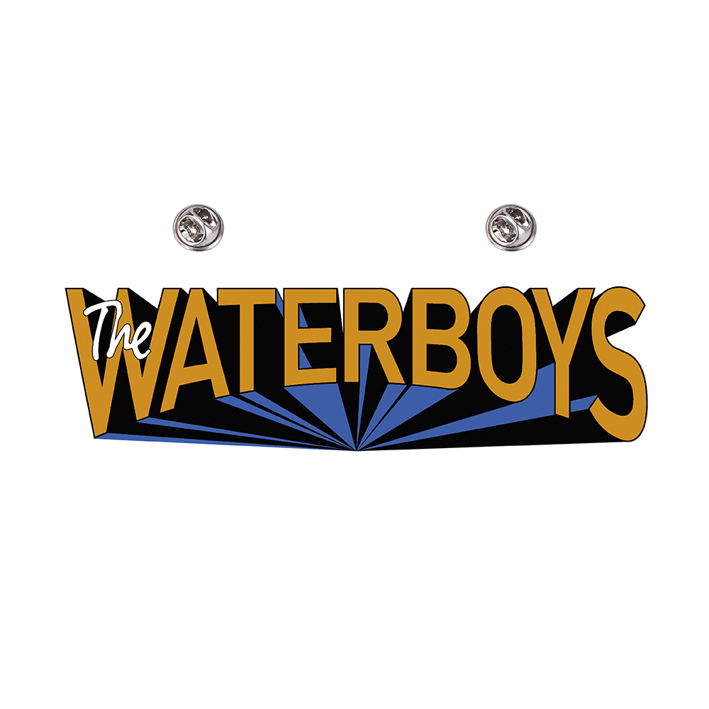 The Waterboys - Enamel Badge