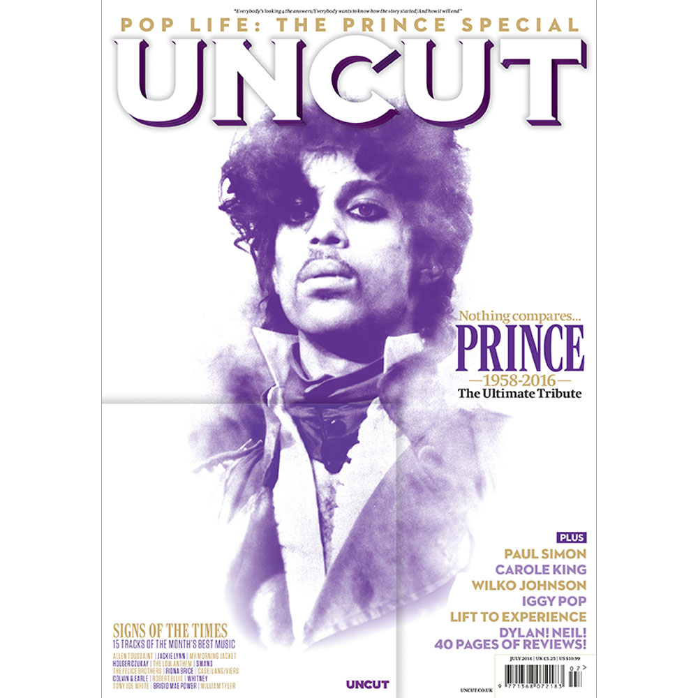 Uncut - July 2016 Issue - Prince Tribute Special + CD