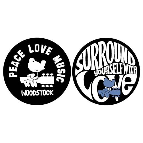 Woodstock - Peace Love Music (Black)