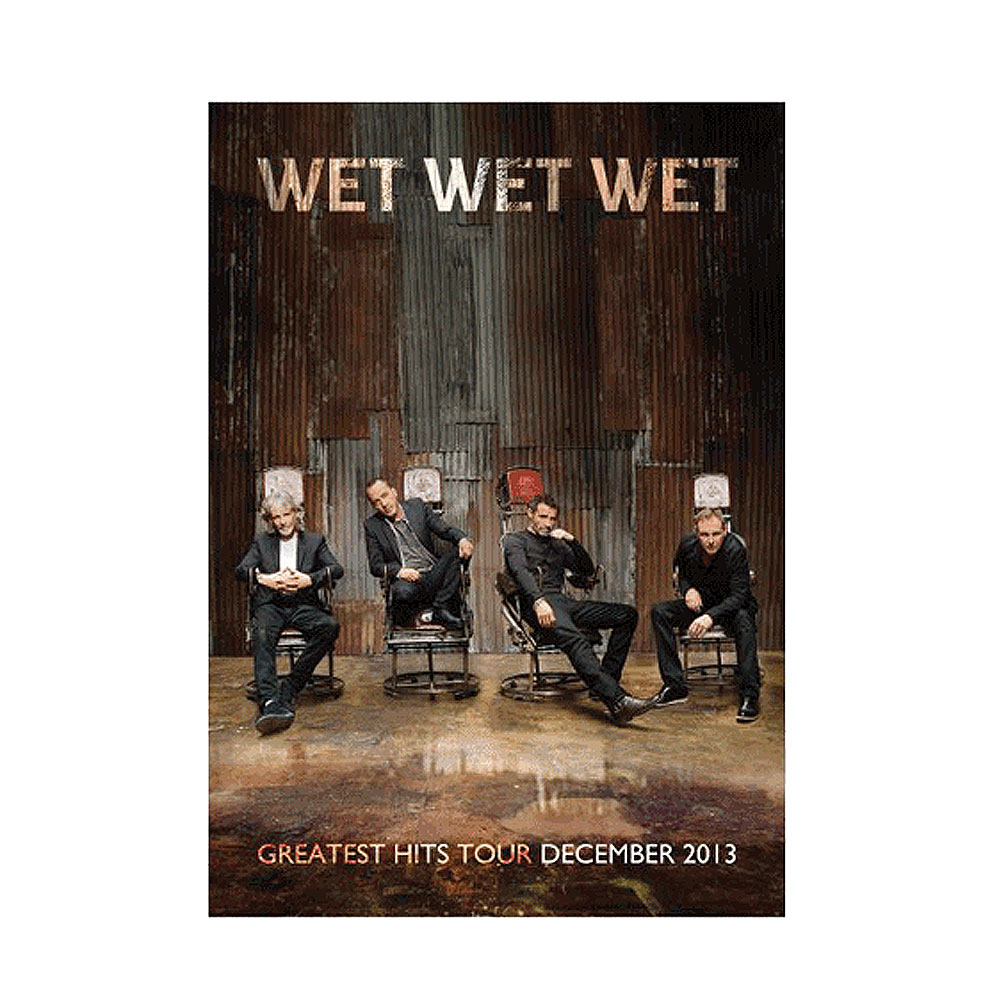 Wet Wet Wet - (Greatest Hits 13) Programme