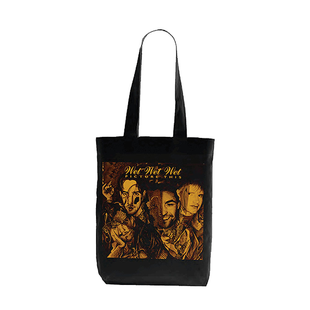 Wet Wet Wet - Picture This Canvas Bag