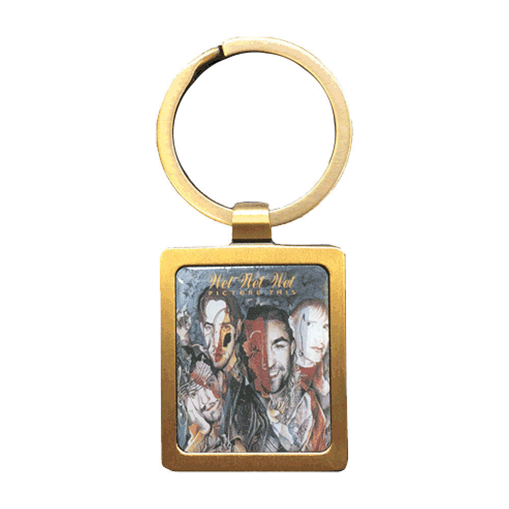 Wet Wet Wet - Picture This Metal Keychain