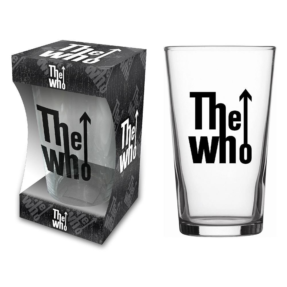 The Who - Classic Logo (Beer Glass)