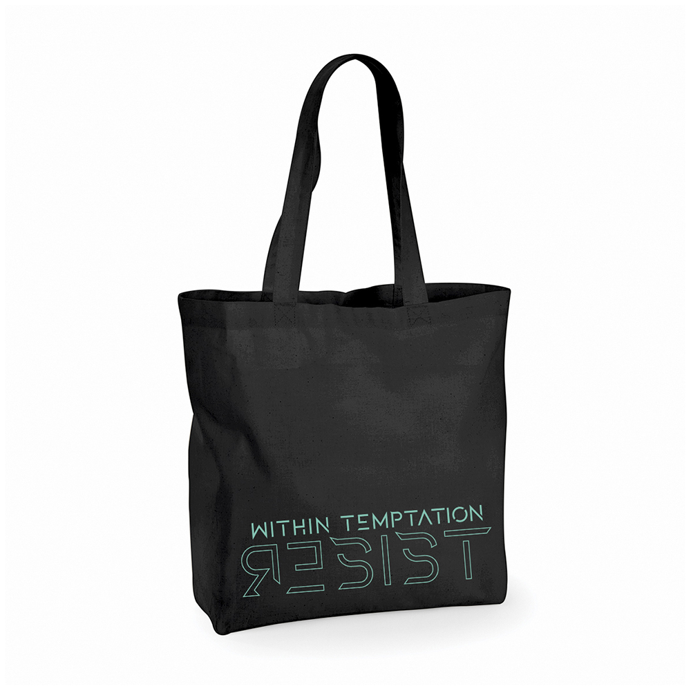 Within Temptation - 3D Resist Black Shopper Bag