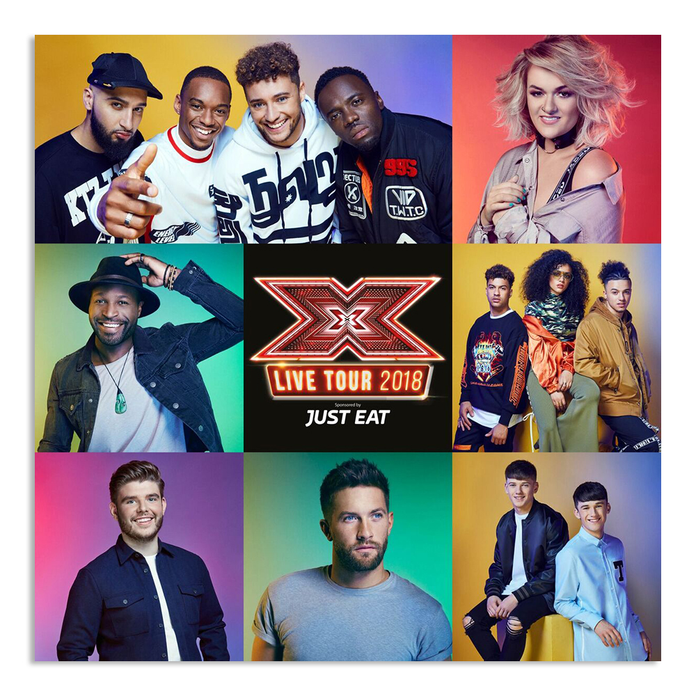 The X Factor Tour - Official Programme 2018