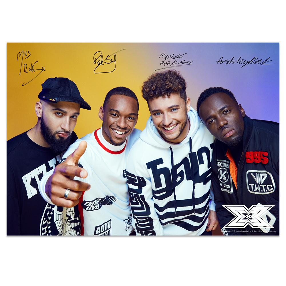 The X Factor Tour - Rak-Su Photocard 2018