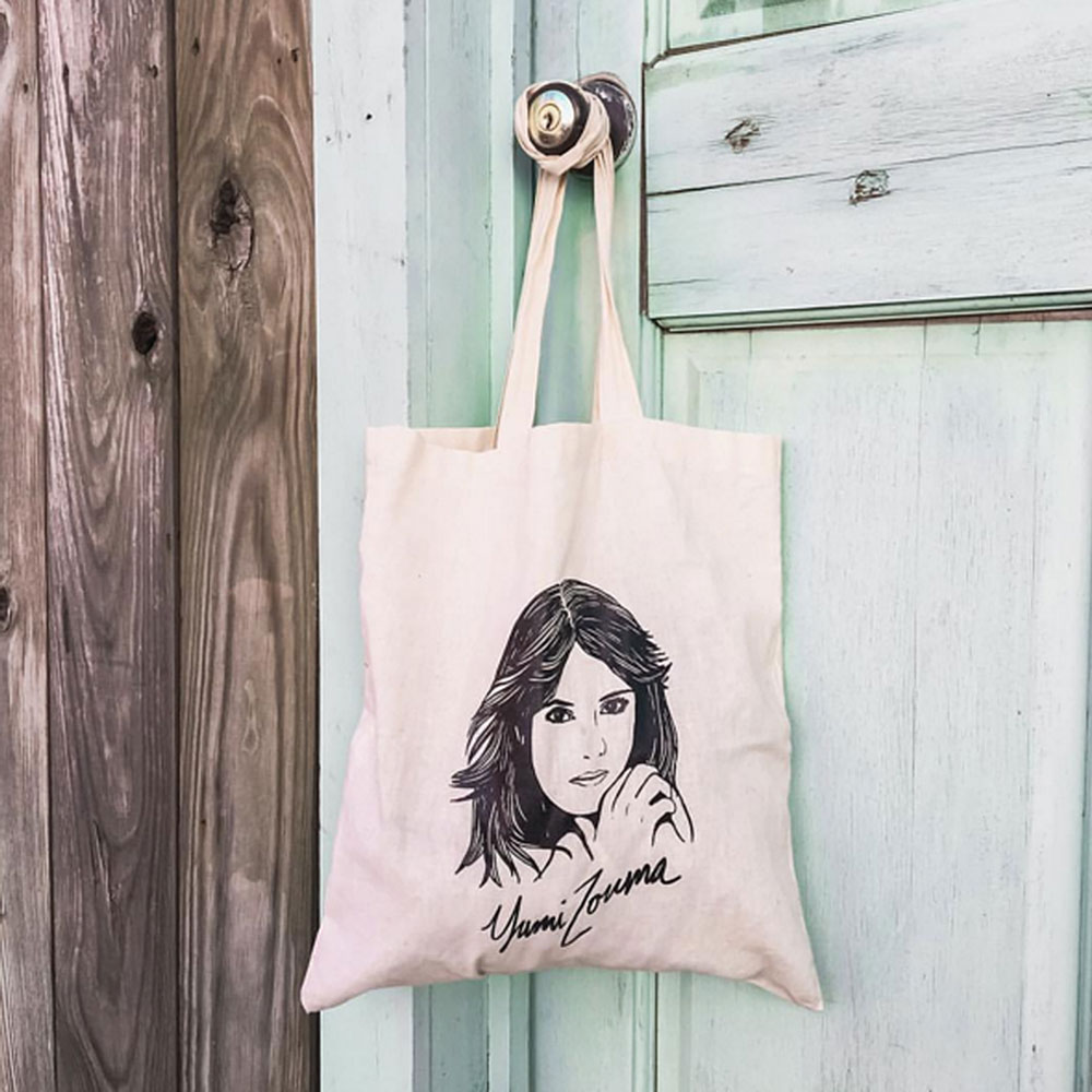 Yumi Zouma - 'EP I' Illustration Tote Bag
