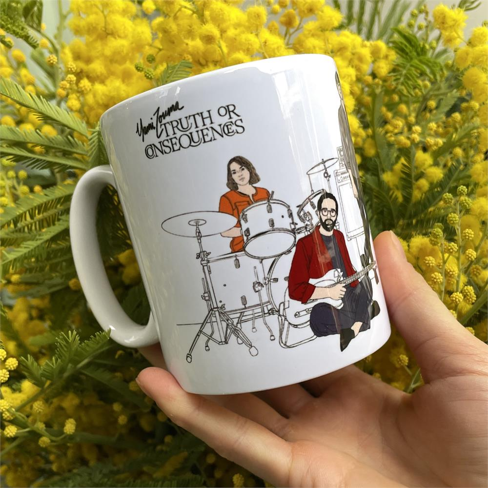 Yumi Zouma - 'Truth or Consequences' Gatefold Illustration Coffee Mug