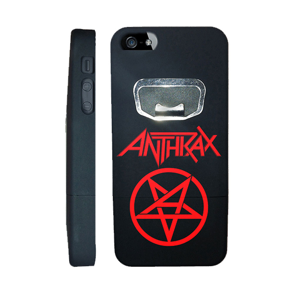 Anthrax - Bottle Opener iPhone 5 Case