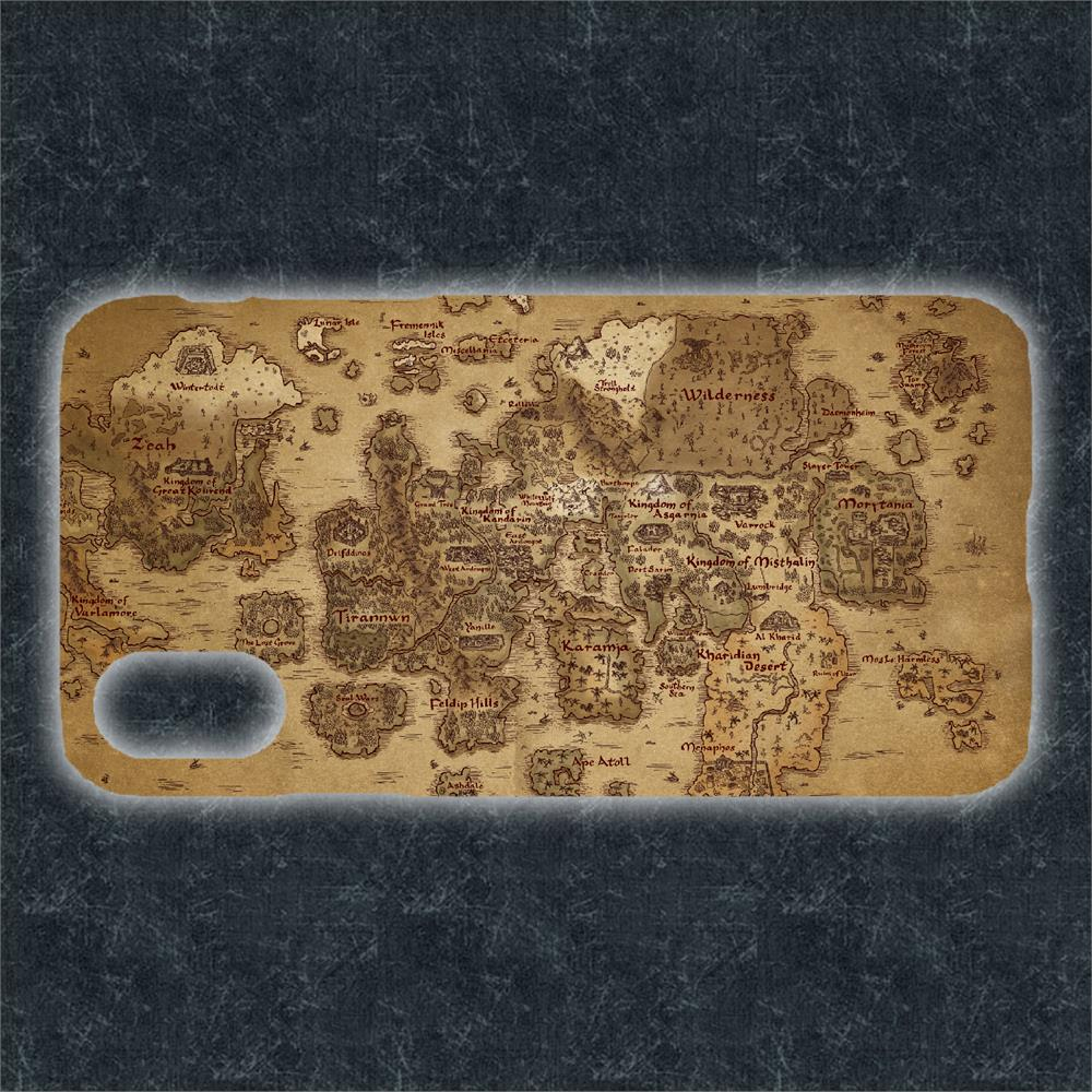 RuneScape - Map of Gielinor Phone Cover