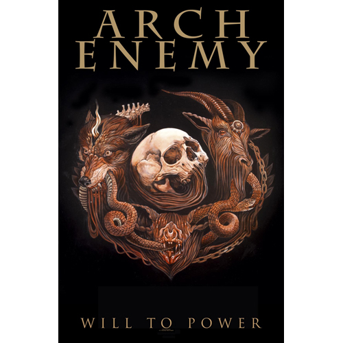 Arch Enemy - Will To Power (Textile Poster)