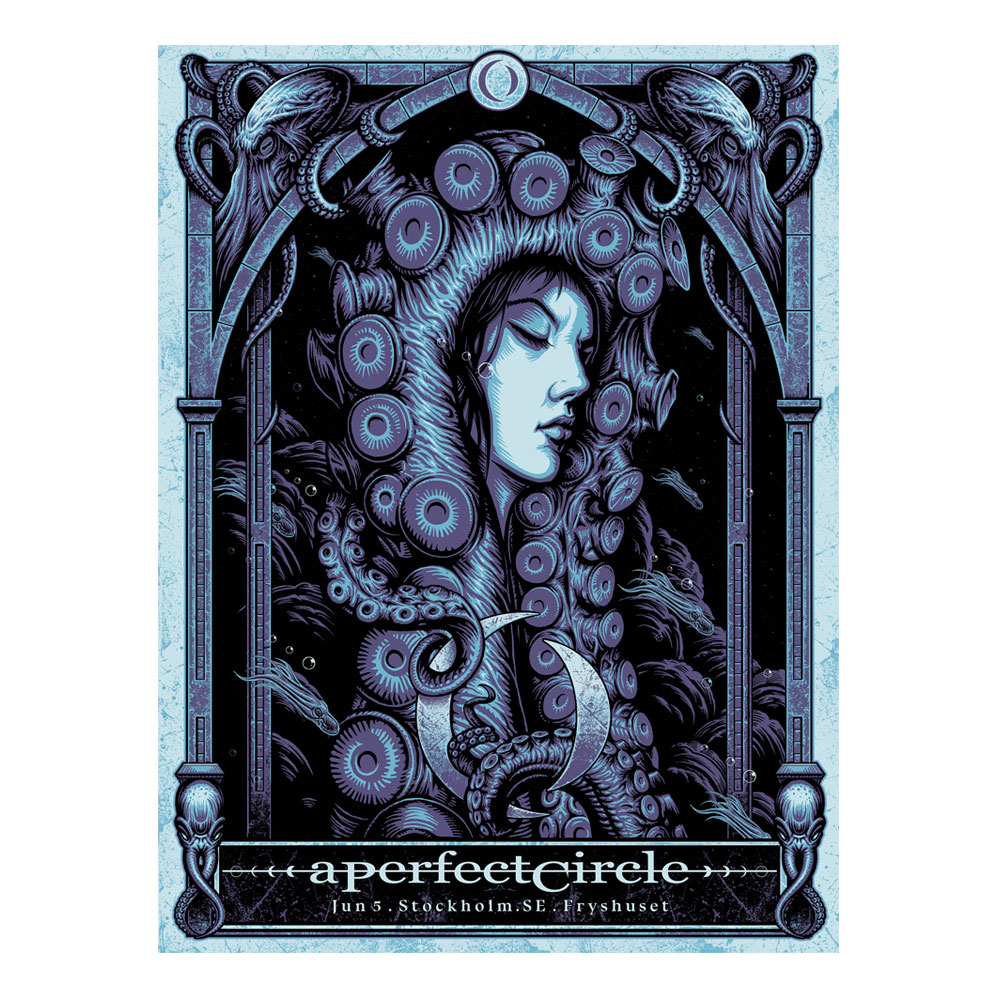 A Perfect Circle - Stockholm Event 5/6 [SIGNED]