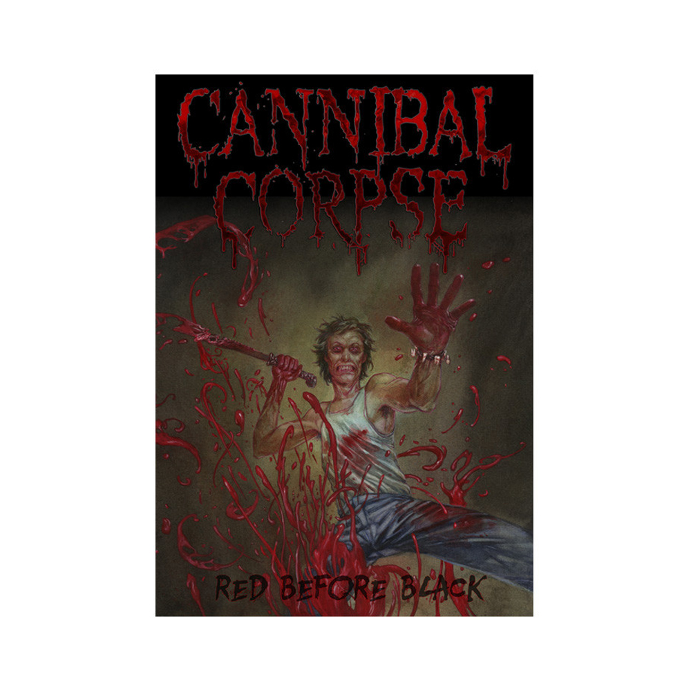 Cannibal Corpse - Red Before Black Poster Flag