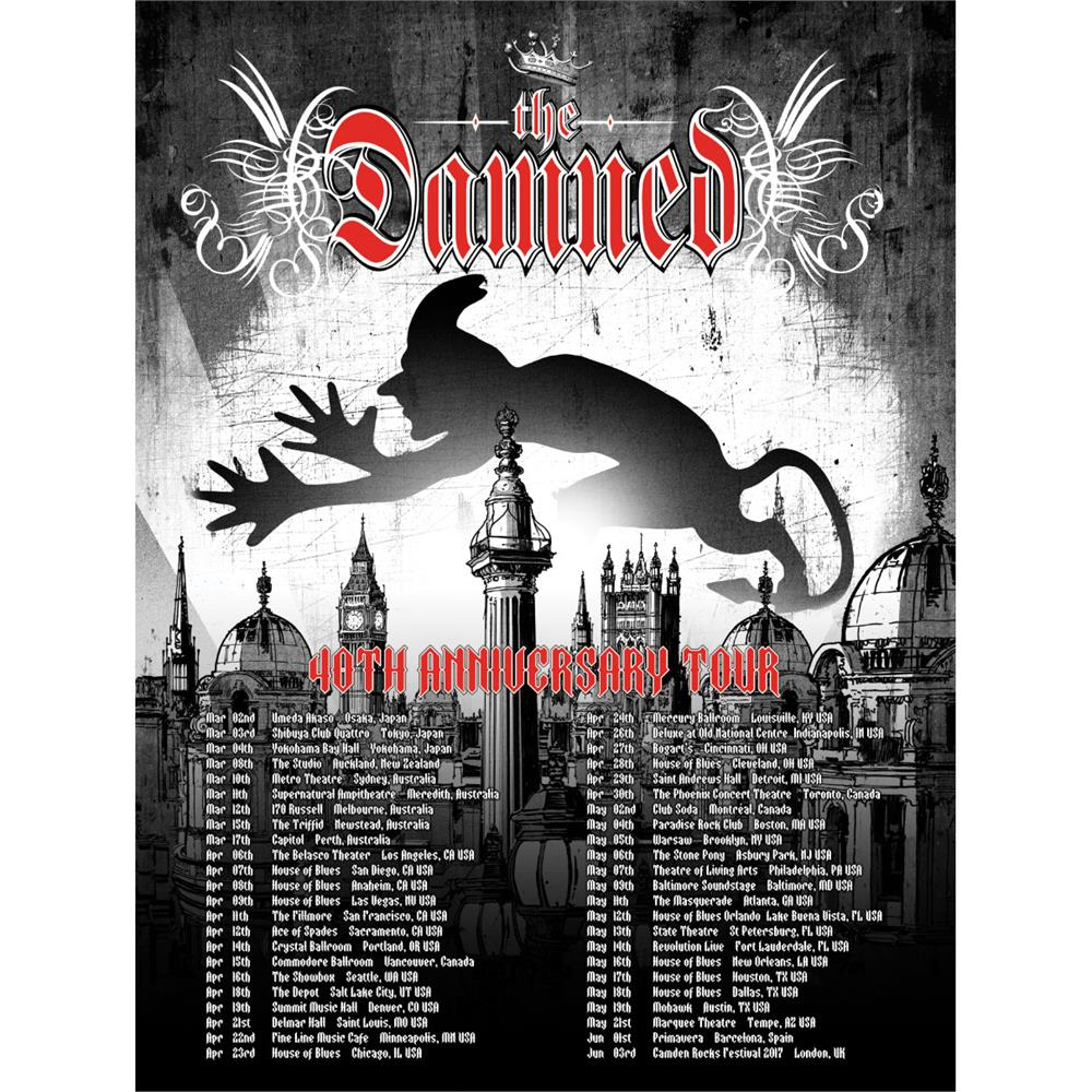 The Damned - Devil over London