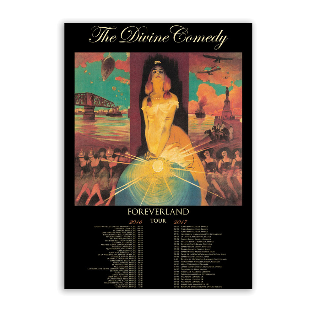 The Divine Comedy - Foreverland Tour (A2)