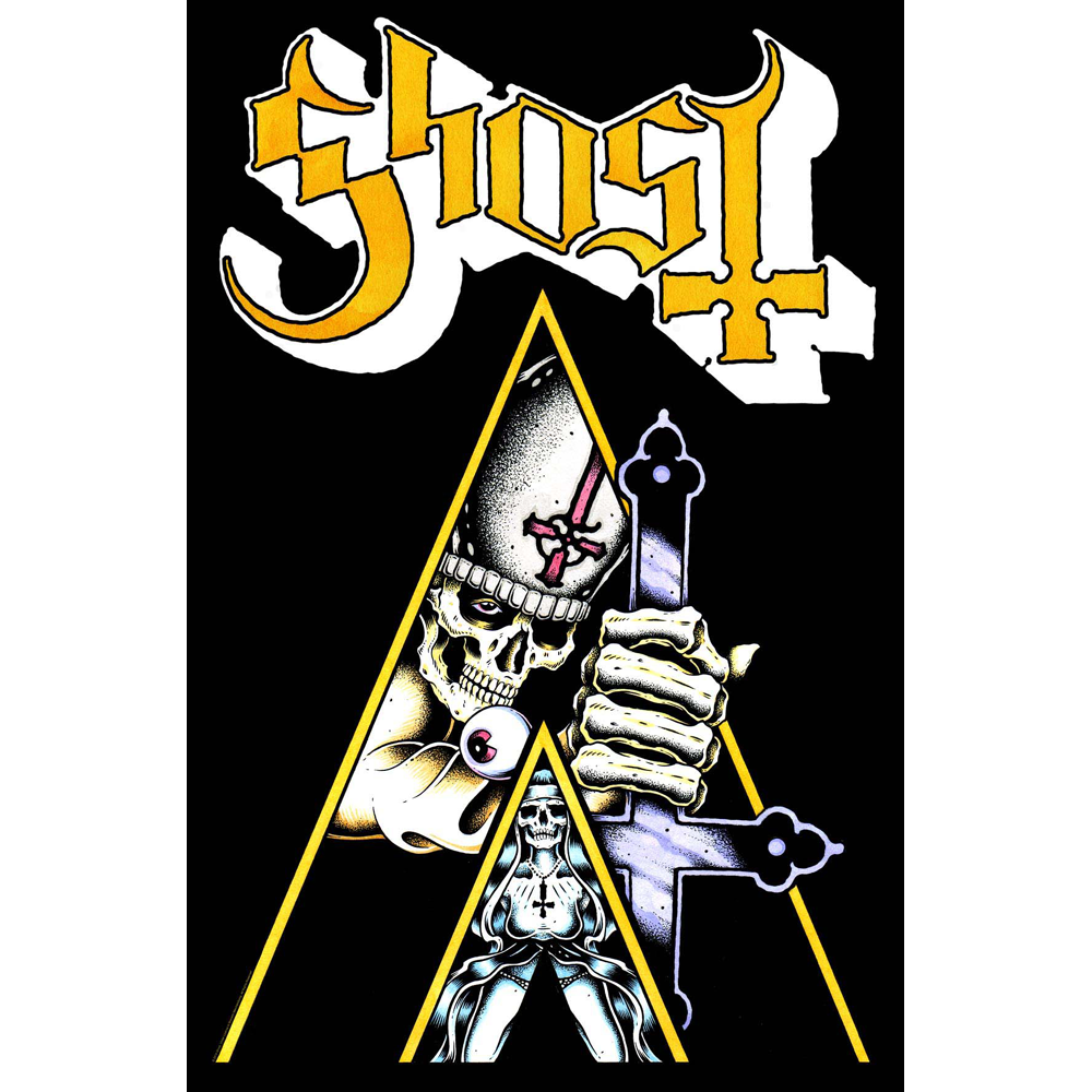 Ghost - Clockwork Textile Poster
