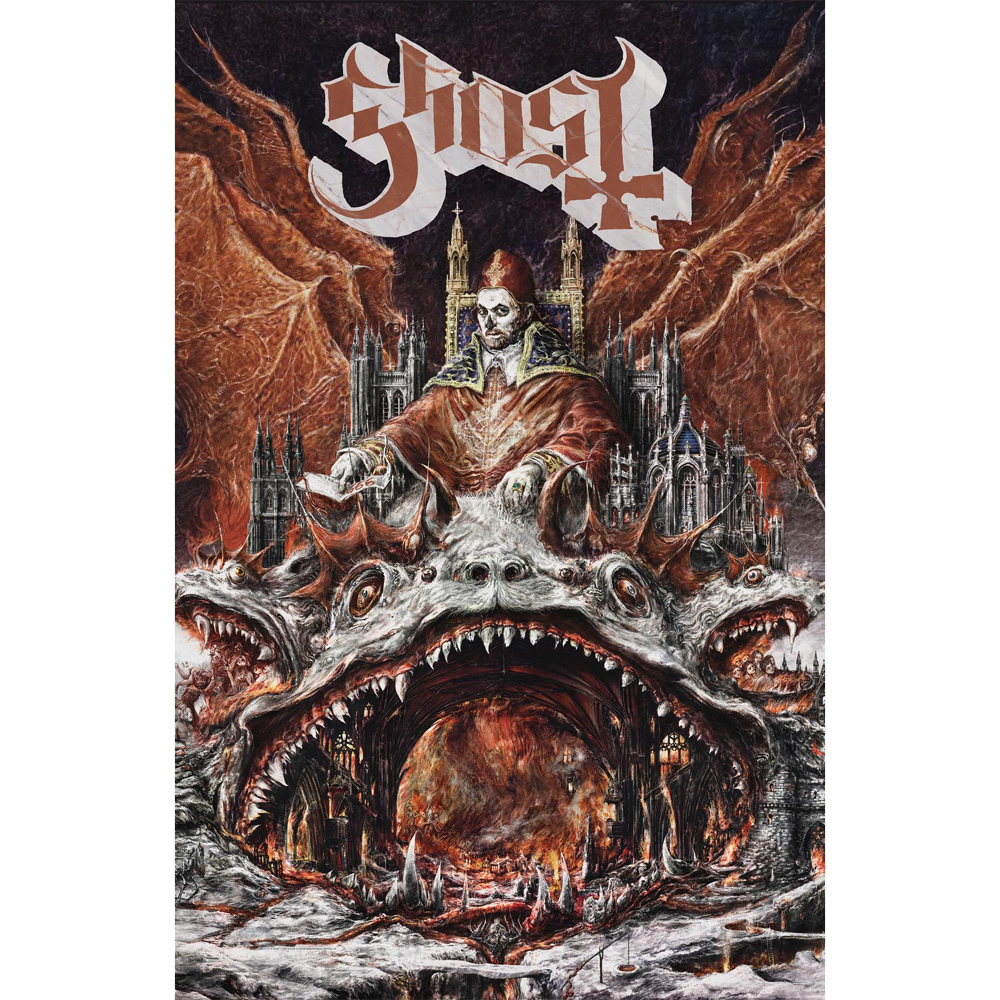 Ghost - Prequelle Textile Poster