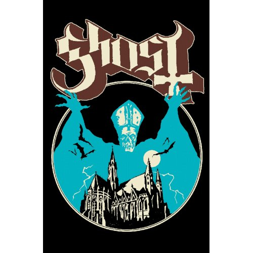 Ghost - Opus Eponymous (Textile Poster)