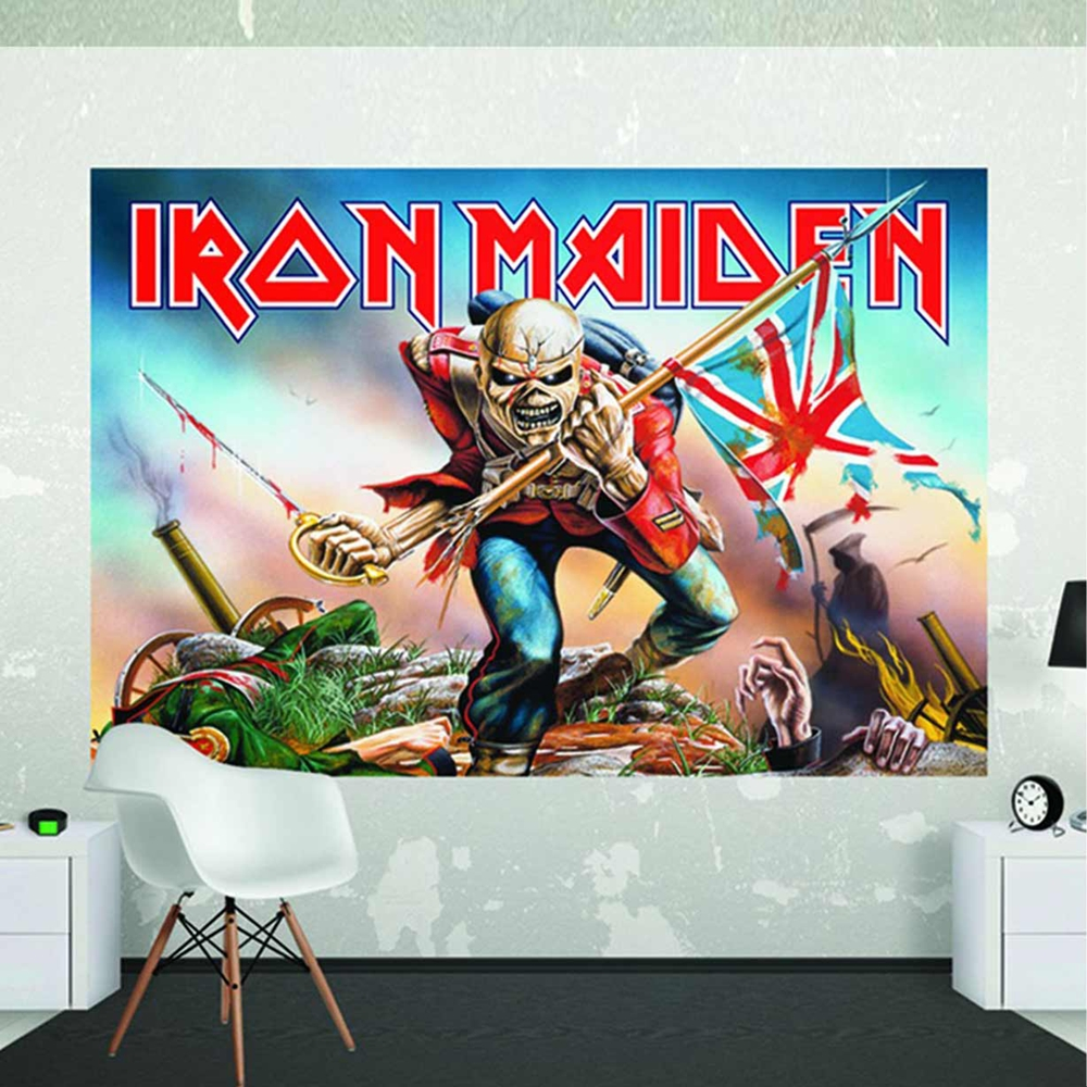 Iron Maiden - Wall Mural (1.58 X 2.32M
