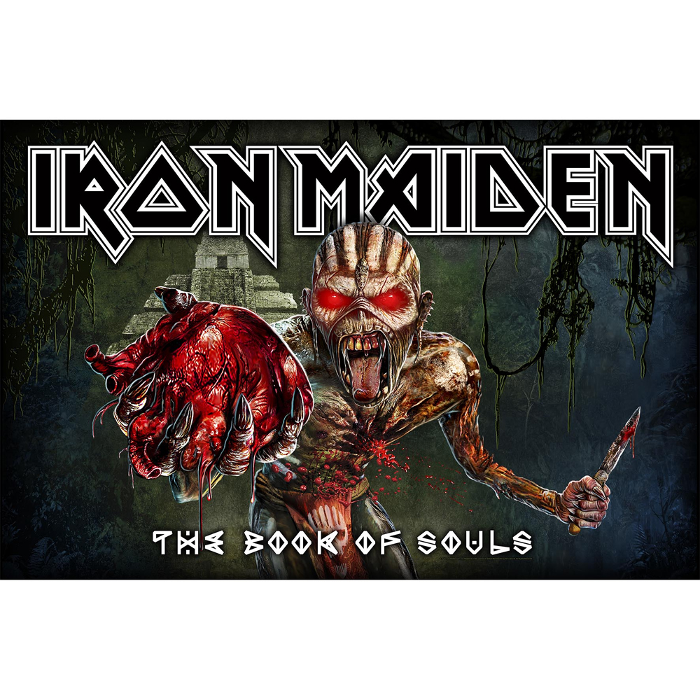 Iron Maiden - Book Of Souls (Textile Poster)