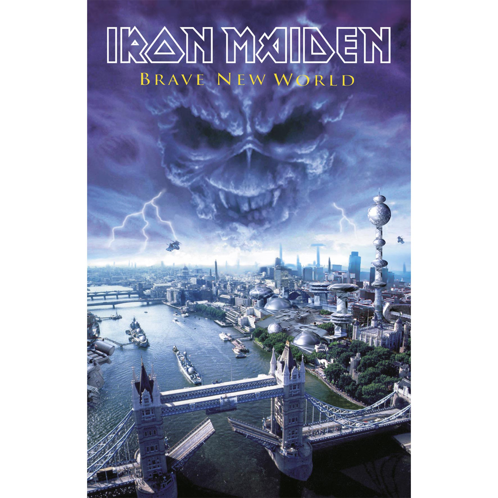 Iron Maiden - Brave New World (Textile Poster)