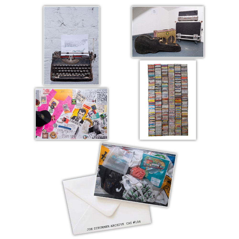 Joe Strummer - Archive A5 Mini Art Prints Set #1