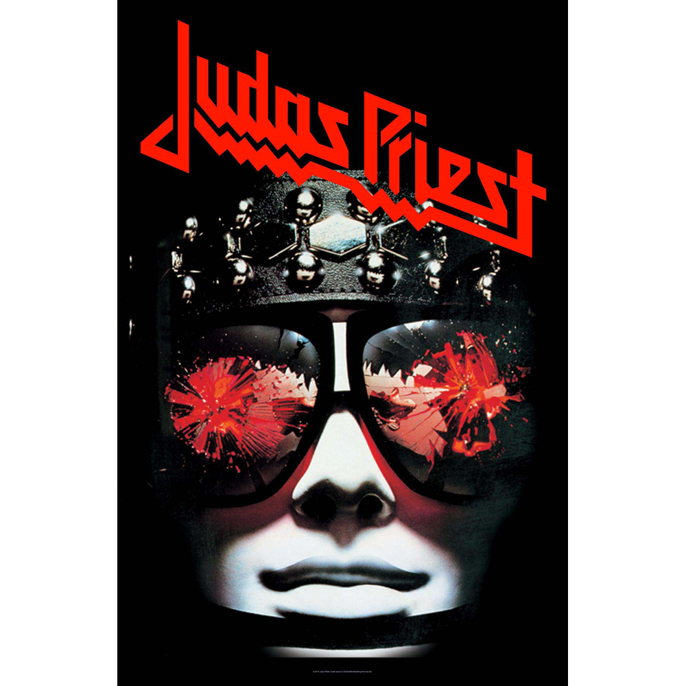 Judas Priest - Hell Bent For Leather Textile Poster
