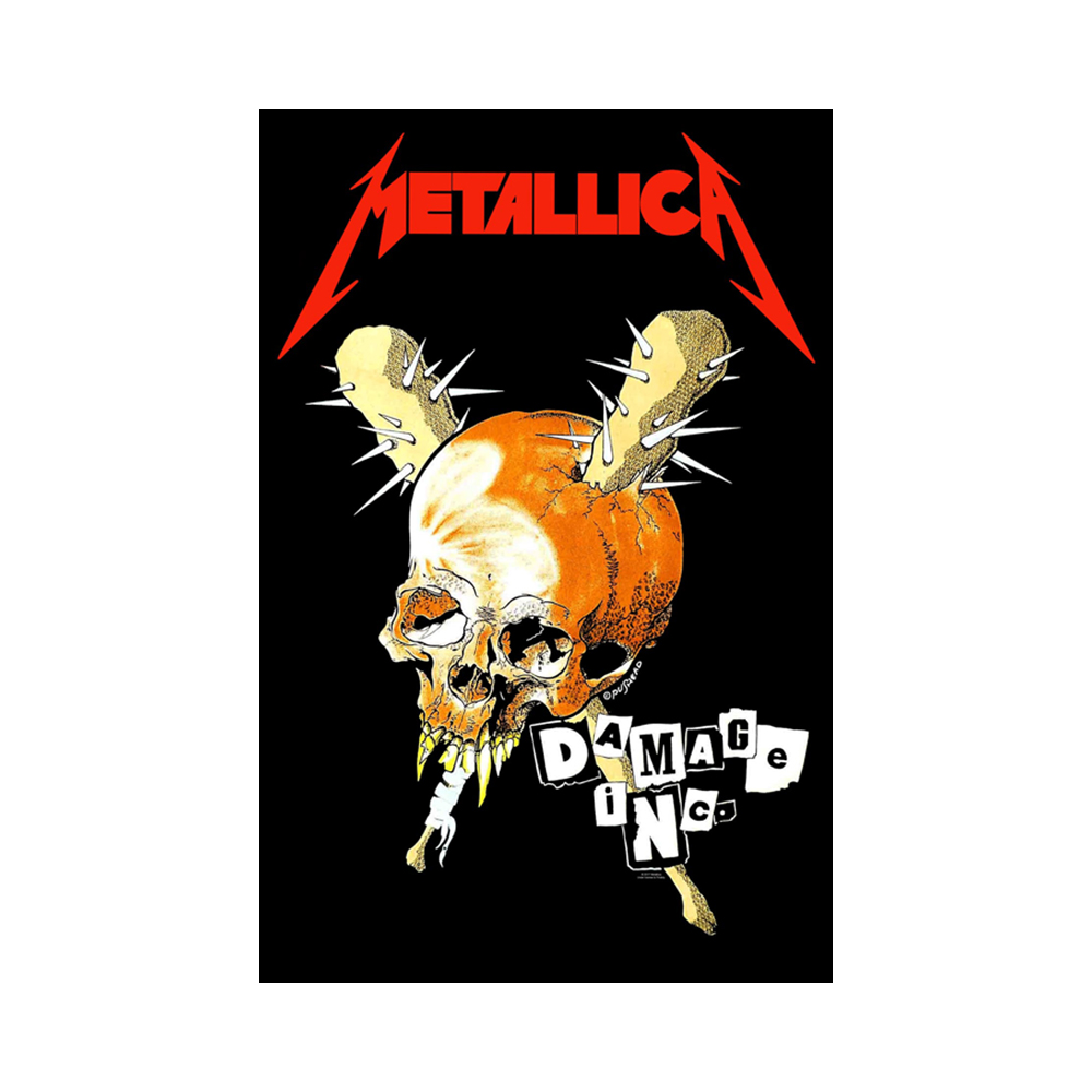 Metallica - Damage Inc. (Textile Poster)
