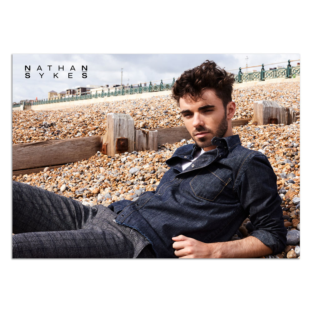 Nathan Sykes - 2019 Photo Poster (A1)