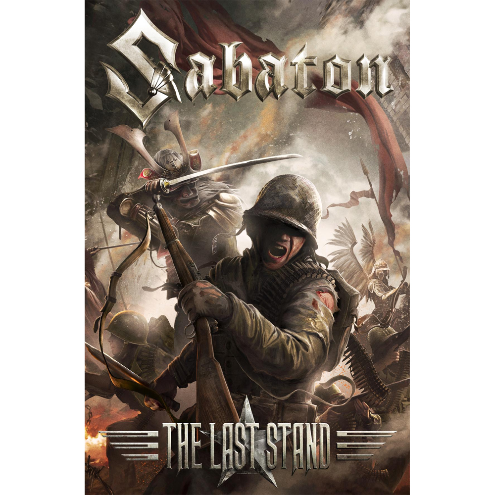 Sabaton - The Last Stand  (Textile Poster)