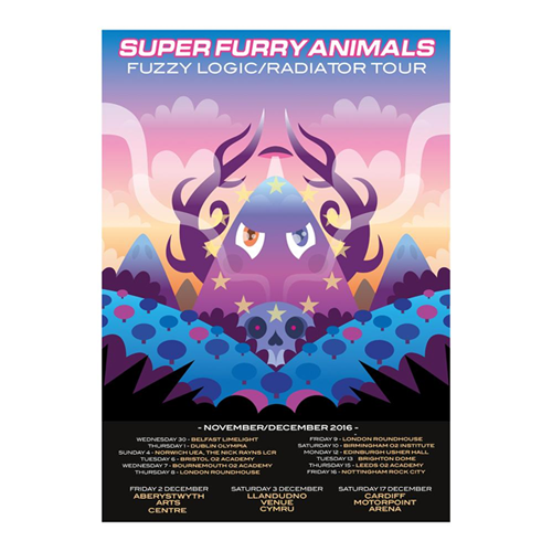 Super Furry Animals - Fuzzy Logic/ Radiator Tour