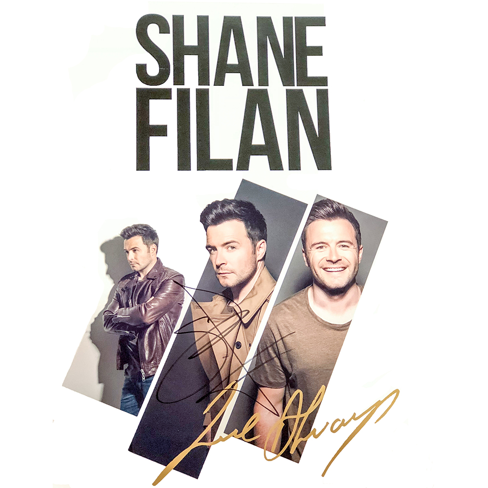 Shane Filan - Tour Lithograph (Personally Signed)