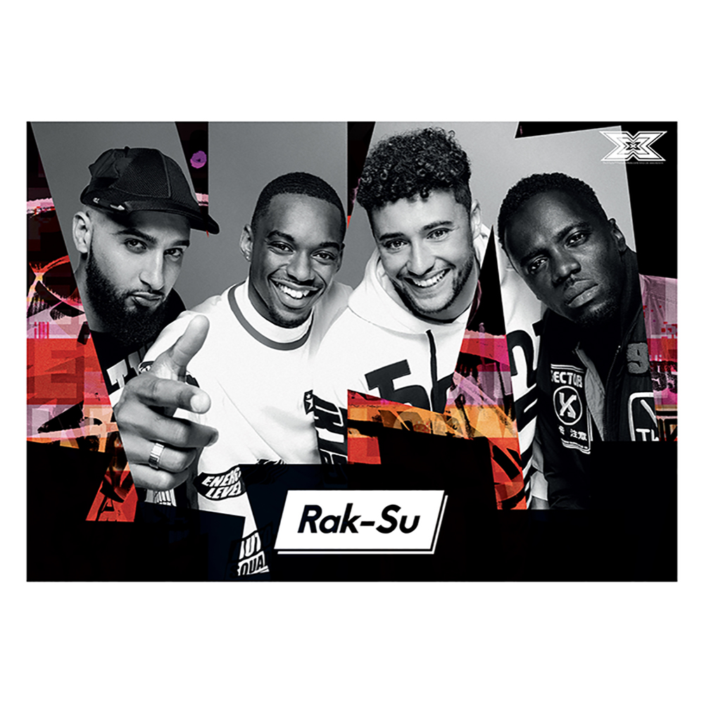 The X Factor Tour - Rak-Su Poster 2018 (A1)
