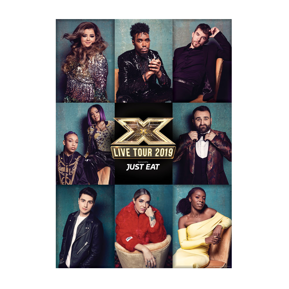The X Factor Tour - Group Poster 2019 (A1)
