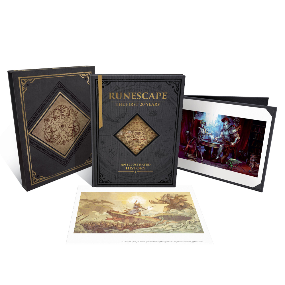 Runescape Pre-Orders - RuneScape: The First 20 Years Deluxe Edition (USA)